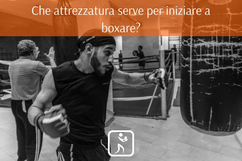 attrezzatura boxe